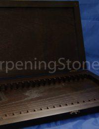 Подарочный деревянный кейс для точильных камней